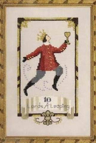 Ten Lords A Leaping 12 Days of Christmas | Nora Corbett Designs