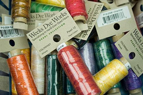 Pearl Cotton #12 | Weeks Dye Works