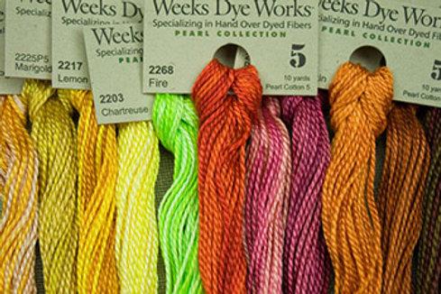 Pearl Cotton #5 | Weeks Dye Works