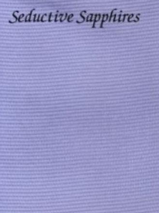 Seductive Sapphires | Aida | Silkweaver Fabrics