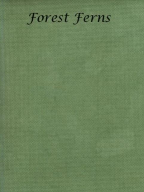 Forest Ferns   Linen   Silkweaver Fabrics
