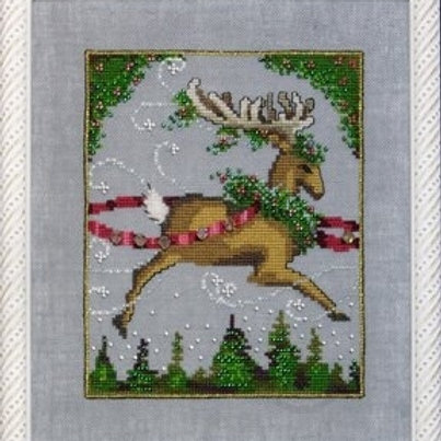 Blitzen Christmas Couriers | Nora Corbett Designs