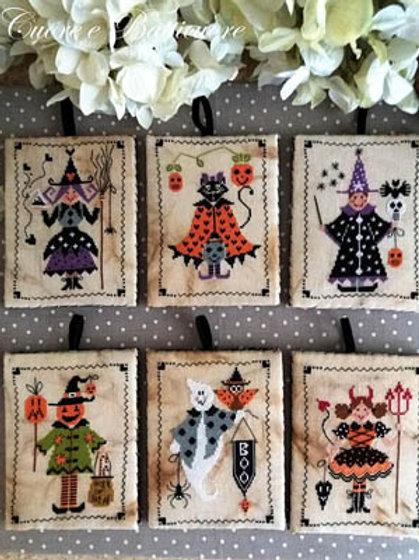 Sei Personaggi In Cerca Di Halloween (Halloween Pinkeeps) | Cuore E Batticuore