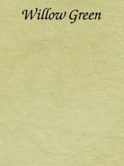 Willow Green   Hardanger   Silkweaver Fabric