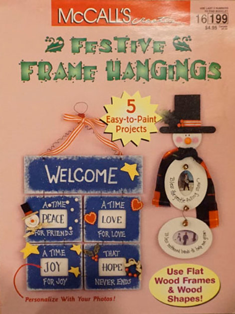 Festive Frame Hangings | McCall's Creates