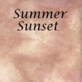 Summer Sunset | Hardanger | Silkweaver Fabric