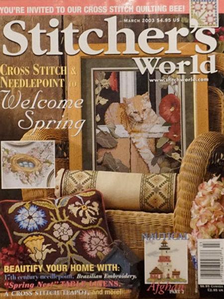 Stitcher's World Mar 2003