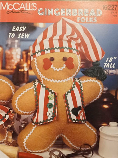 Gingerbread Folks | McCall's Creates