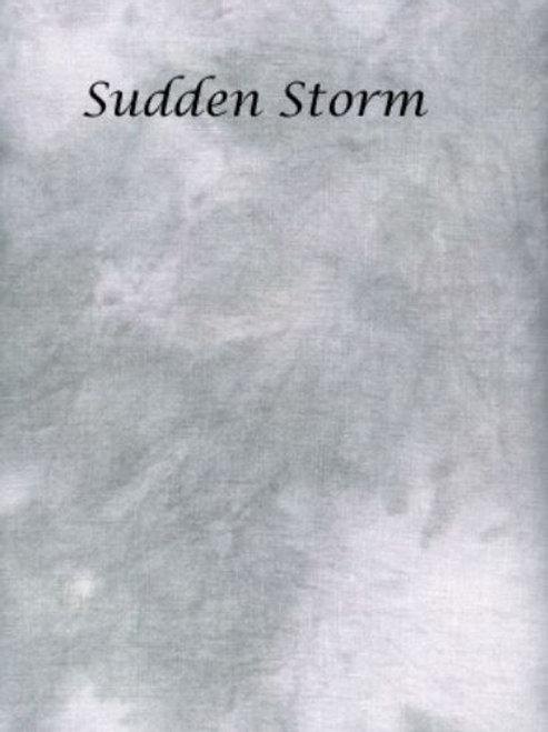 Sudden Storm | Hardanger | Silkweaver Fabric