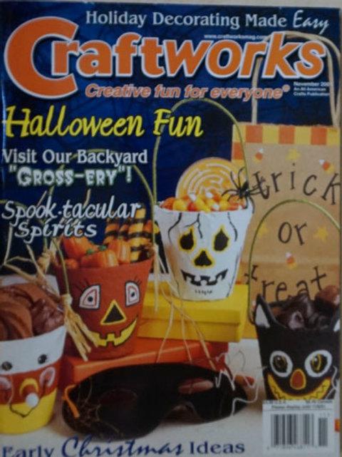 Craftworks Nov 2001