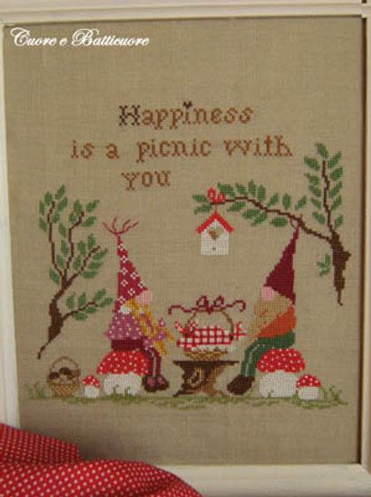 Picnic Nel Bosco (Happiness Is A Picnic With You)   Cuore E Batticuore