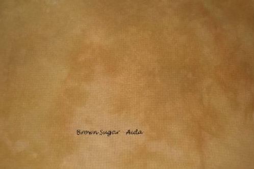 Brown Sugar | Aida | Under The Sea Fabrics