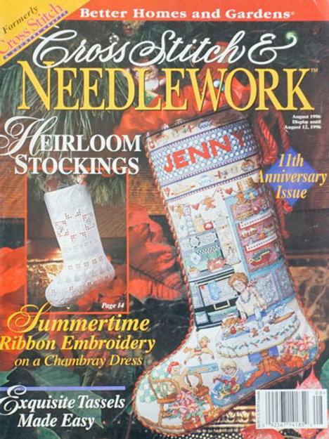 Cross Stitch & Needlework Aug 1996