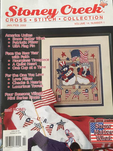 Stoney Creek Cross Stitch Collection Jan/Feb 2002