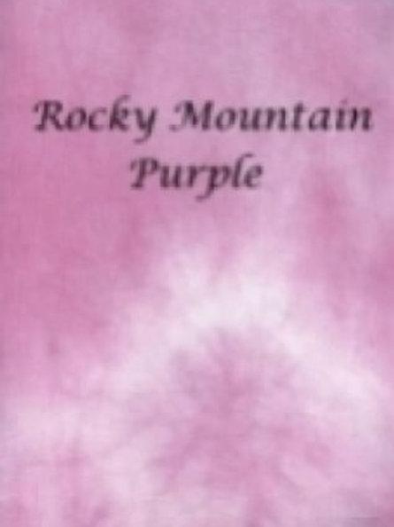 Rocky Mountain Purple | Aida | Silkweaver Fabrics