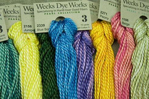 Pearl Cotton #3 | Weeks Dye Works