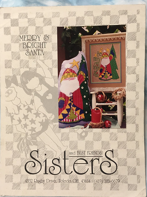 Merry & Bright Santa | Sisters and Best Friends