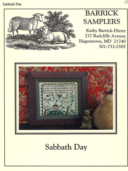 Sabbath Day | Barrick Samplers