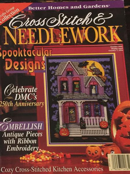 Cross Stitch & Needlework Spooktacular October 1996