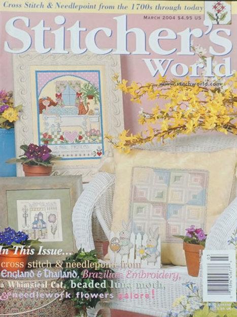 Stitcher's World March 2004