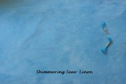 Shimmering Seas | Evenweave | Under The Sea Fabrics