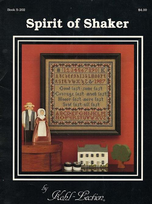Spirit of Shaker | Kohl-Lection