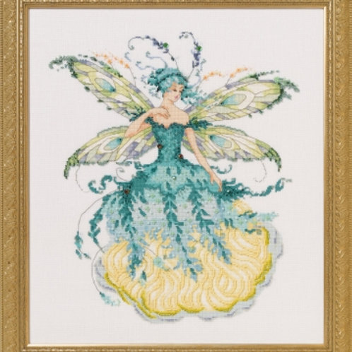 March Aquamarine Fairy | Mirabilia Designs