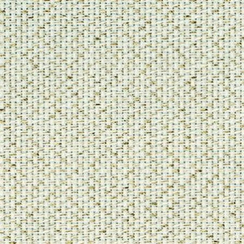 Aida Metallic Gold (White) | Zweigart