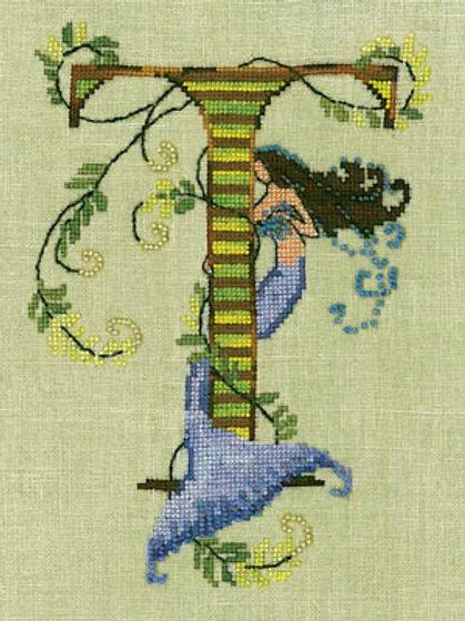 Letters From Mermaids - T   Nora Corbett Designs