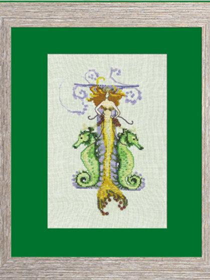 Letters From Mermaids - I   Nora Corbett Designs