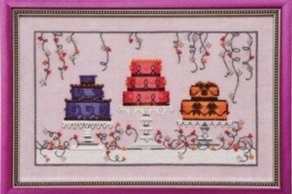 Garden Party Cakes | Nora Corbett Designs