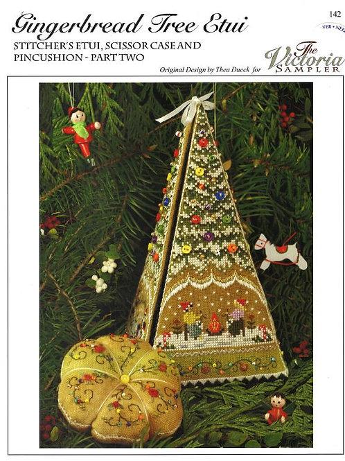 Gingerbread Tree Etui | The Victoria Sampler