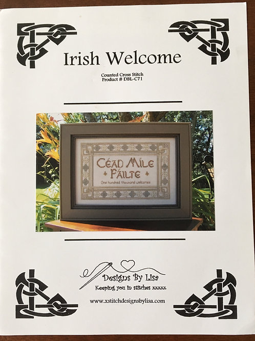 Irish Welcome | Designs by Lisa