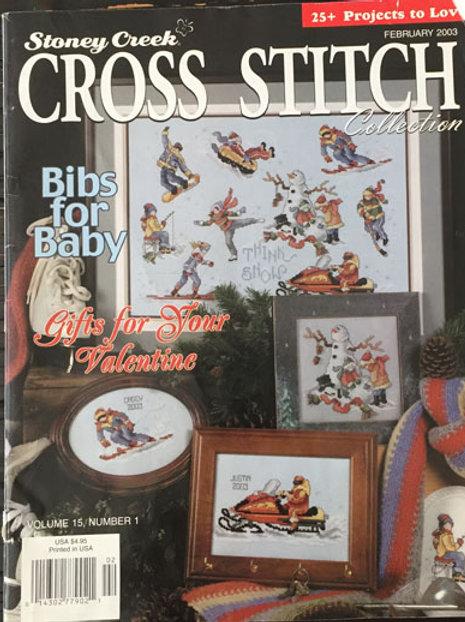 Stoney Creek Cross Stitch Collection Feb 2003