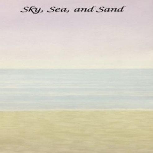 Sky, Sea, and Sand | Aida | Silkweaver Fabrics