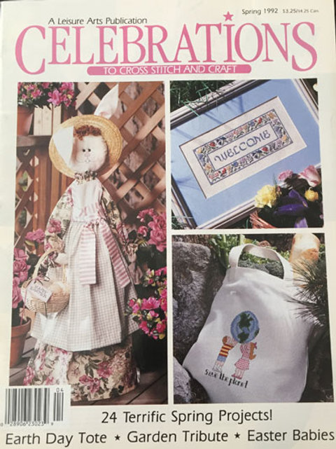 Celebrations to Cross Stitch and Craft Spring 1992
