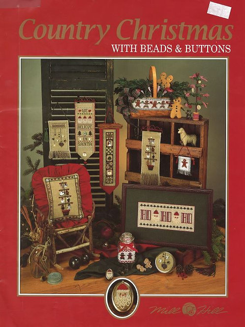 Country Christmas with Beads & Buttons | Mill Hill