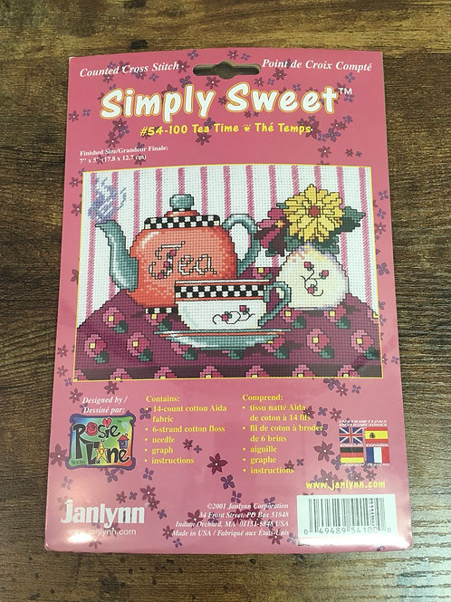 Tea Time - Simply Sweet | Janlynn