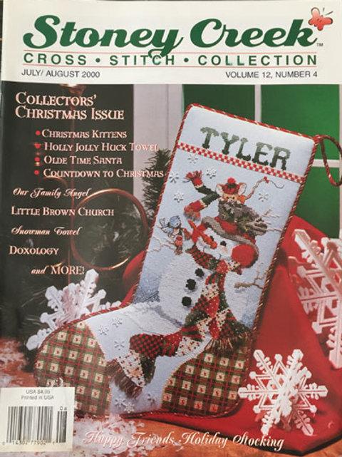 Stoney Creek Cross Stitch Collection Jul/Aug 2000