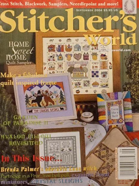 Stitcher's World Sep 2004