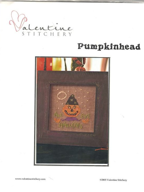 Pumpkinhead | Valentine Stitchery