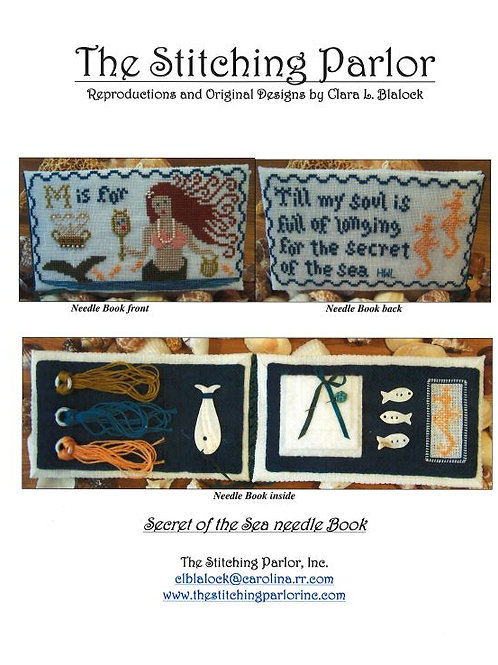 Secret of the Sea needle book | The Stitching Parlor