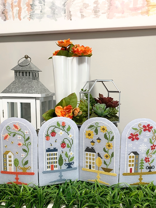 Seasonal Bell Jars   Tiny Modernist