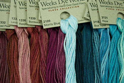 Embroidery Floss | Weeks Dye Works