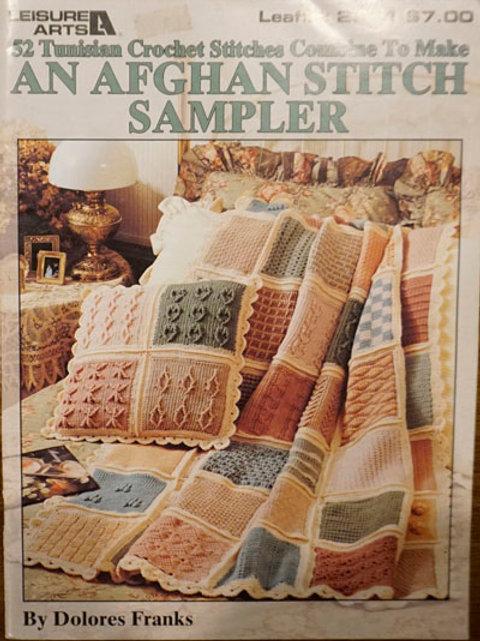 An Afghan Stitch Sampler | Leisure Arts