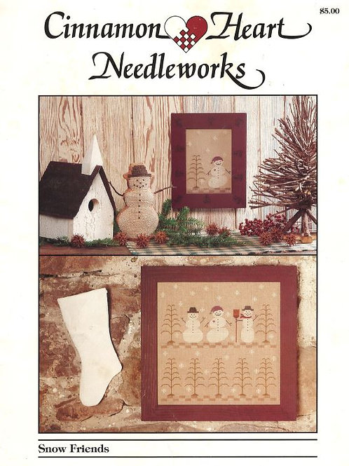Snow Friends | Cinnamon Heart Needleworks