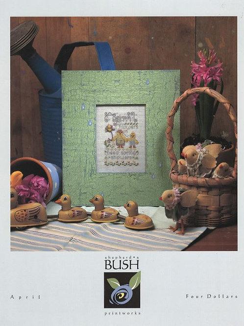 April | Shepherd's Bush Printworks