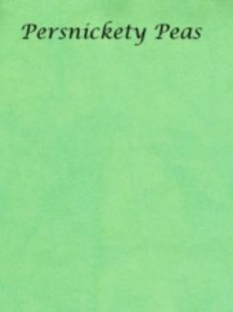 Persnickety Peas   Hardanger   Silkweaver Fabric