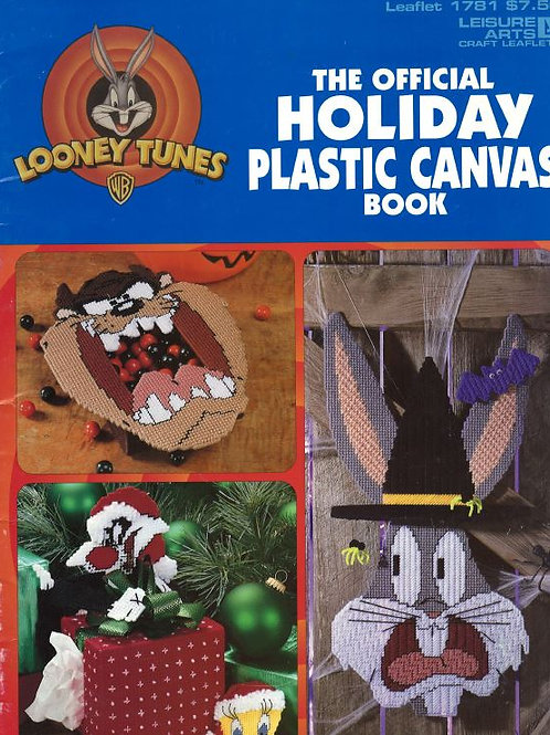 The Official Holiday Plastic Canvas Book (Looney Tunes) | Leisure Arts