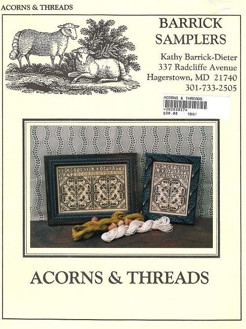 Acorns & Threads | Barrick Samplers